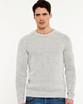Le Château Tape Yarn Crew Neck Sweater