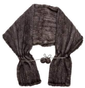Pologeorgis Knit Mink Stole