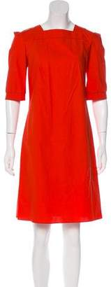 Marni Square Neck Knee-Length Dress w/ Tags