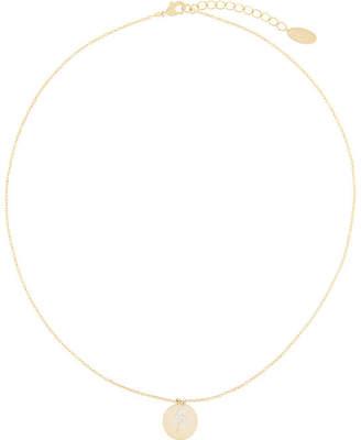 Orelia lightning bolt pendant necklace