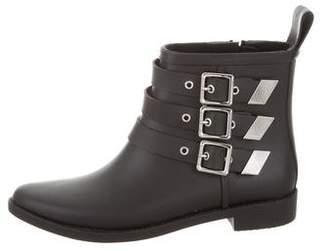 Loeffler Randall Buckle Rain Boots