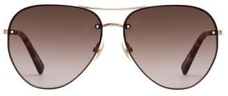 Rebecca Minkoff Gloria Aviator Sunglasses