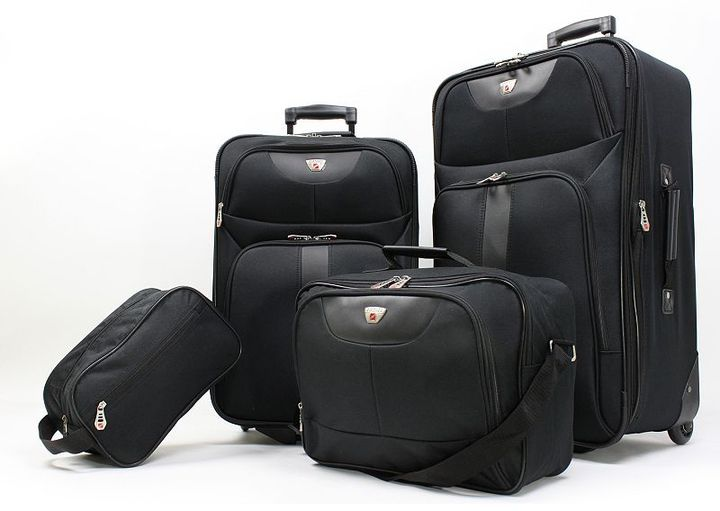 American explorer desoto 4-pc. luggage set