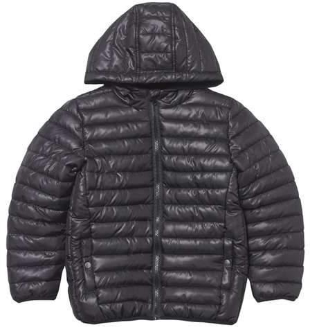 **Boys Black Padded Coat (5 - 12 years)