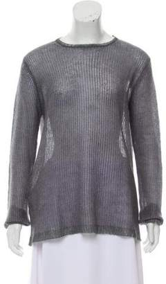 Prada Crew Neck Mohair Sweater w/ Tags