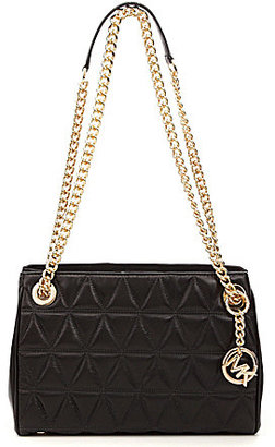 MICHAEL Michael Kors Scarlett Quilted Medium Cross-Body Bag $328 thestylecure.com