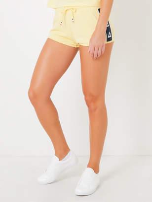 Le Coq Sportif Odette Shorts in Yellow