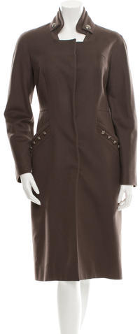 ValentinoValentino Wool Fitted Coat w/ Tags