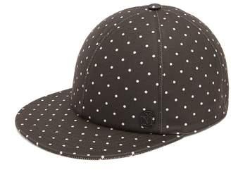 Maison Michel Hailey polka-dot cap