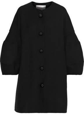 Carolina Herrera Wool And Silk-Blend Twill Coat