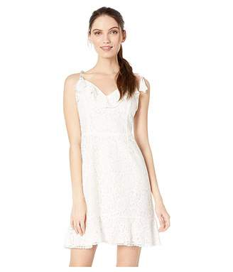 Cupcakes And Cashmere Loma Lace Fit and Flare Dress