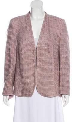 Akris Textured Structured Jacket
