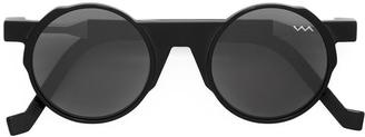 Vava round framed sunglasses $484.20 thestylecure.com