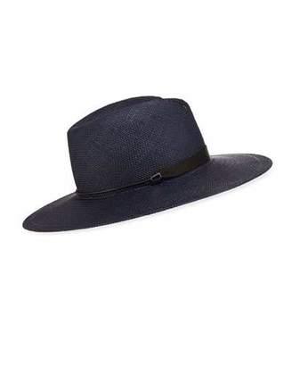 Rag & Bone Zoe Straw Fedora Hat