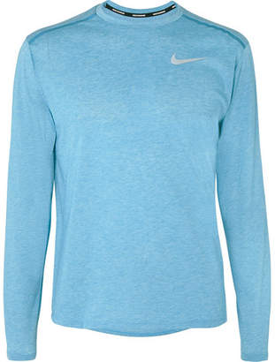 78e0f8e11 Nike Running Rise 365 Perforated Breathe Dri-Fit T-Shirt