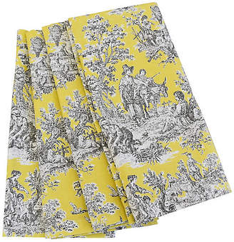 One Kings Lane Vintage French Country Toile Napkins