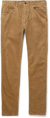 Beams Slim-Fit Cotton-Corduroy Trousers