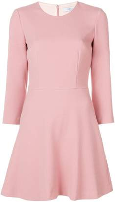 Blumarine flared mini dress