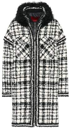 Moncler Gamme Rouge Ludmilla shearling-trimmed coat