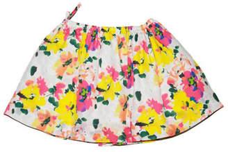 Marni Floral Colorful Skirt