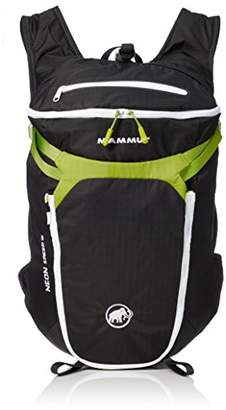 Mammut Neon Speed, Unisex Adults' Backpack, Grey (Graphite/Sprout), 15x17x25 cm (W x H L)