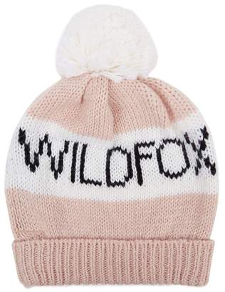 Wildfox Couture Alpine Pompom Knitted Beanie