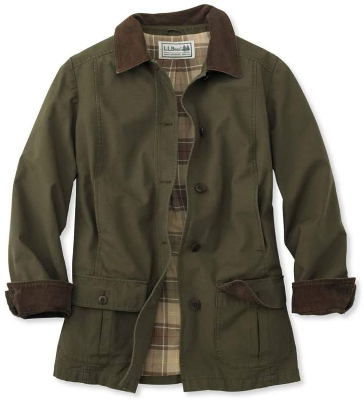 L L Bean Adirondack Barn Coat Flannel Lined Shopstyle