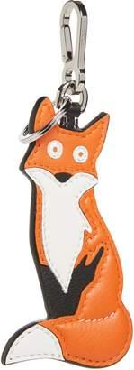 Loewe Fox Leather Charm Key Ring