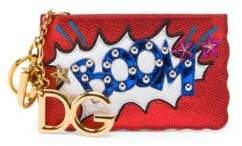 Dolce & Gabbana Metallic Zip Coin Purse