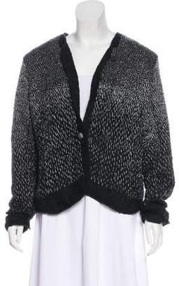 Theyskens' Theory Embellished Silk Blazer w/ Tags