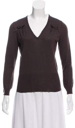 Christian Dior Wool & Silk-Blend Sweater