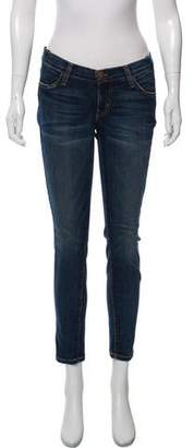 Current/Elliott Mid-Rise Cropped Jean