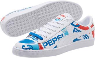 PUMA x PEPSI Basket Sneakers