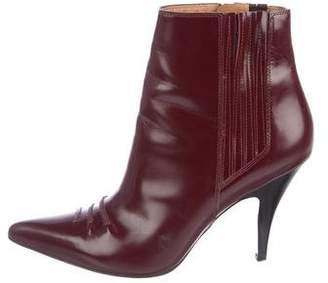 3.1 Phillip Lim Patent Leather Ankle Boots