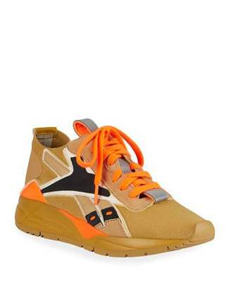 Reebok x Victoria Beckham Bolton Lace-Up Knit Sock Sneakers