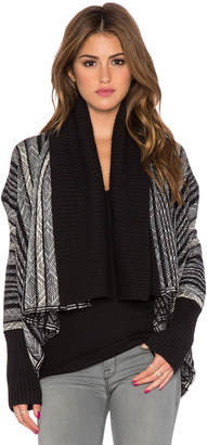 Open Front Blanket Cardigan $198 thestylecure.com