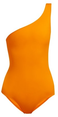 Talia Collins - The Asymmetrical Swimsuit - Womens - Orange