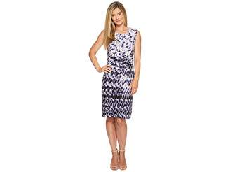 Nic+Zoe Lotus Twist Dress Women's Dress