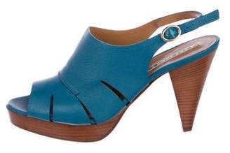 Fratelli Rossetti Leather Slingback Sandals