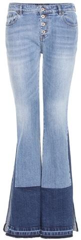 Roberto CavalliRoberto Cavalli Flared Stretch-cotton Jeans