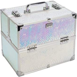 S.O.H.O New York Large Iridescent Snake Vanity Case