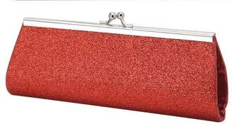 MissMo'r Clasp Flap Clutch Evening Bag Baguette Handbag Sparkle Clutch