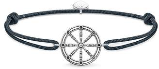 Thomas Sabo Rebel Navy Karma Wheel Bracelet