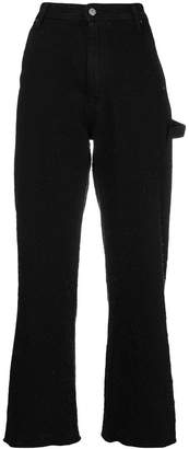 MM6 MAISON MARGIELA flared trousers