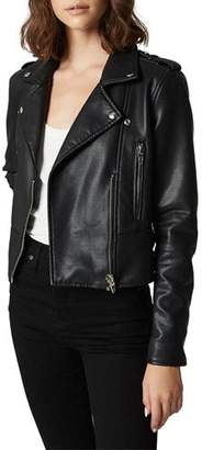 Blank NYC It Takes Two Vegan Leather Moto Jacket