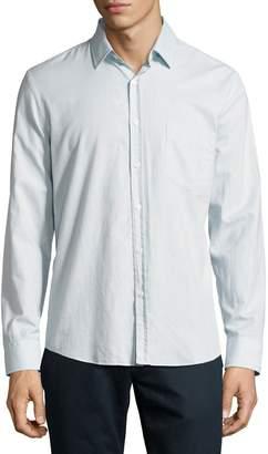 Billy Reid John T Standard-Cut Oxford Shirt, Light Blue