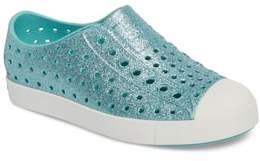 Nordstrom x Native Shoes Jefferson - Bling Glitter Slip-On Sneaker