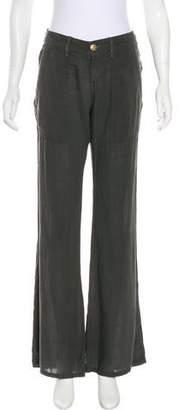 Current/Elliott Mid-Rise Wide-Leg Pants