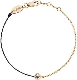 Rosegold The Alkemistry Redline 18ct rose-gold and diamond illusion chain bracelet