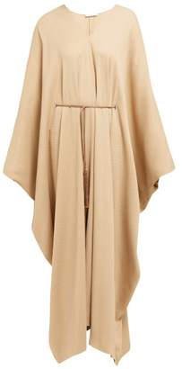 The Row Joanna Belted Kaftan Dress - Womens - Beige
